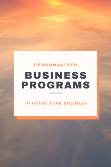 Business Programs to Grow Your Business